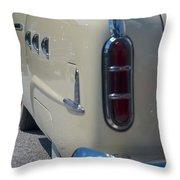 52 Packard Convertible Tail Throw Pillow