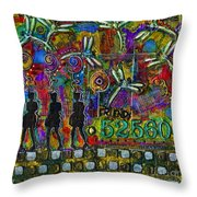 525 600 Minutes - Color Throw Pillow