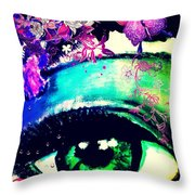 Pikotine Art Throw Pillow