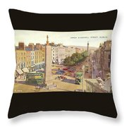 The Ancient Town Of Agrigentum Throw Pillow
