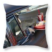 55 Bel Air Door-8190 Throw Pillow