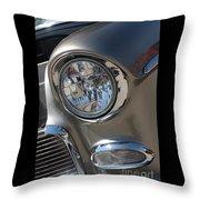 55 Bel Air Headlight-8200 Throw Pillow