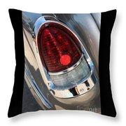 55 Bel Air Tail Light-8184 Throw Pillow