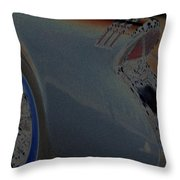 55 Buick Skylark Throw Pillow