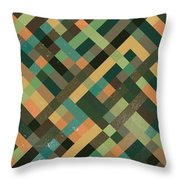Pixel Art Throw Pillow