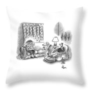 New Yorker March 28th, 2005 Throw Pillow