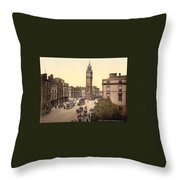 Landscape Of Ancient Greece Throw Pillow
