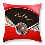 '56 Bel Air Throw Pillow