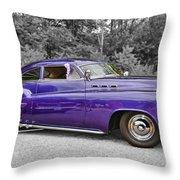 56 Buick Throw Pillow