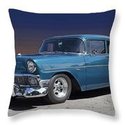 56 Chevy Throw Pillow