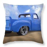 56 Studebaker Truck Throw Pillow