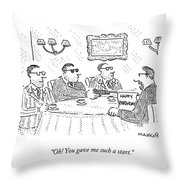 Oh! You Gave Me Such A Start Throw Pillow