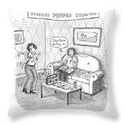 New Yorker September 11th, 2006 Throw Pillow