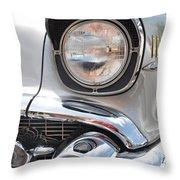 57 Bel Air Bugeye Throw Pillow