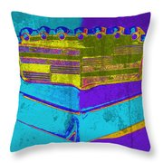 '57 Caddy Throw Pillow
