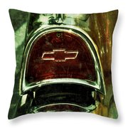57 Chevy Taillight  Throw Pillow