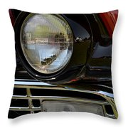 57 Ford Throw Pillow