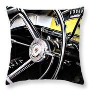 '57 Ford Fairlane 500 Throw Pillow
