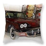 '57 Thunderbird Throw Pillow
