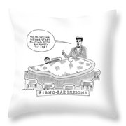 New Yorker June 4th, 2007 Throw Pillow