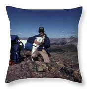 Colorado Rockies Throw Pillow