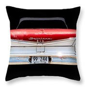 59 Ford Galaxy 500 Throw Pillow