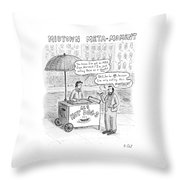 New Yorker May 28th, 2007 Throw Pillow