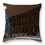 5th And G At Christmas 2012 Throw Pillow