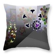 5x5 Synthesis 1 Throw Pillow