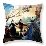 Weimaraner Art Canvas Print  Throw Pillow