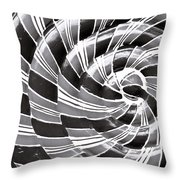 Abstract Pattern Throw Pillow