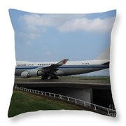 Air China Cargo Boeing 747 Throw Pillow