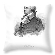 Anthony Wayne (1745-1796) Throw Pillow