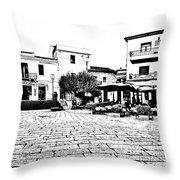 Arzachena Square Throw Pillow