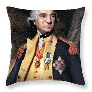 Baron Friedrich Von Steuben Throw Pillow