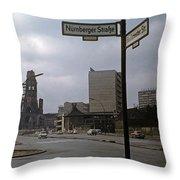 Berlin 1961 Throw Pillow