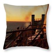Bon Voyage Throw Pillow