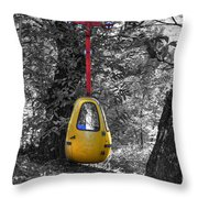 Cableway Throw Pillow