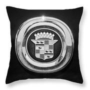 Cadillac Emblem Throw Pillow