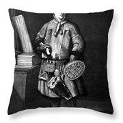 Carolus Linnaeus (1707-1778) Throw Pillow