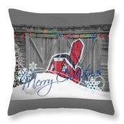 Cleveland Indians Throw Pillow