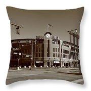 Coors Field - Colorado Rockies Throw Pillow