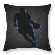 Denver Nuggets Throw Pillow by Joe Hamilton