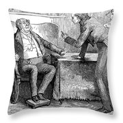 Dickens Martin Chuzzlewit Throw Pillow