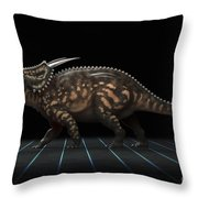 Dinosaur Einiosaurus Throw Pillow