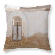 El Farafar Oasis Throw Pillow
