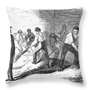 Execution Of Conspirators Throw Pillow