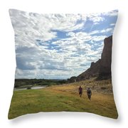 Exploring Big Bend National Park Throw Pillow