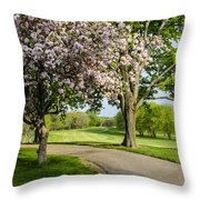 Forest Akers - Blooming Throw Pillow