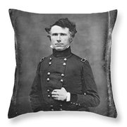 Franklin Pierce Throw Pillow